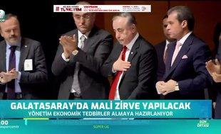 Galatasaray'da mali zirve yapılacak