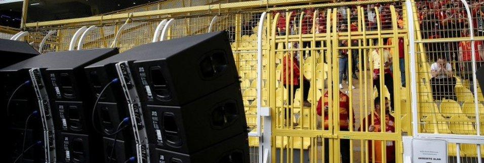 Galatasaray taraftarına hoparlörlü önlem