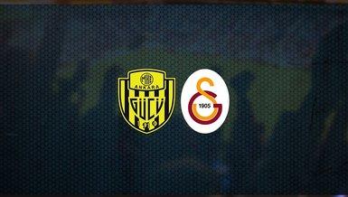 Ankaragücü - Galatasaray maçı ne zaman, saat kaçta ve hangi kanalda canlı yayınlanacak? | Süper Lig