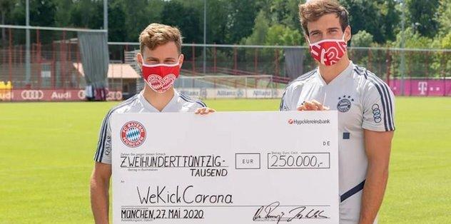 Bayern Münih'ten örnek hareket!