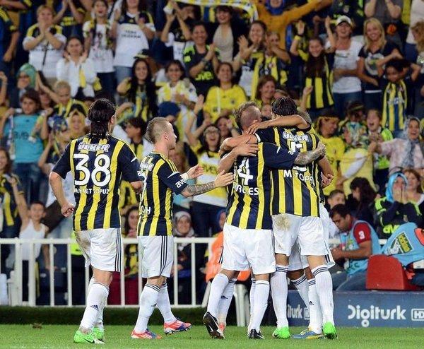 Fenerbahçe - Mersin İY (Spor Toto Süper Lig 4. Hafta Maçı)