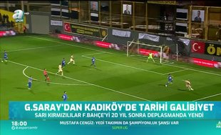 Galatasaray'dan Kadıköy'de tarihi galibiyet