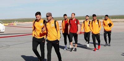 Galatasaray kafilesi Sivas'ta