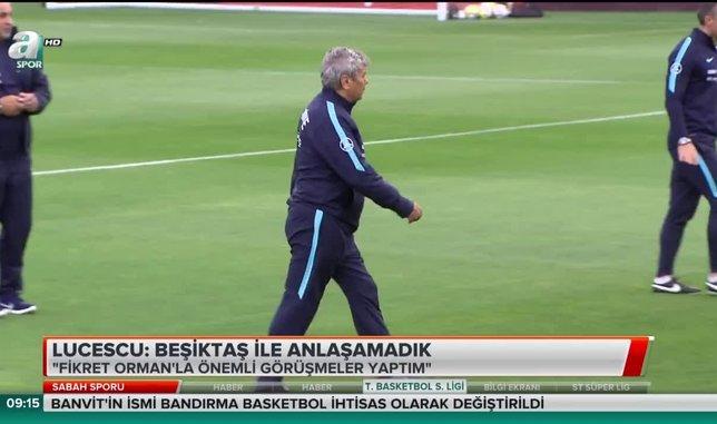 Lucescu'dan flaş Beşiktaş itirafı | Video haber