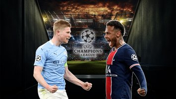 Manchester City - Paris Saint Germain | CANLI