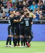 Dinamo Zagreb avantajı kaptı