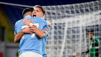 Lazio geriye düştüğü maçı kazanmasını bildi!