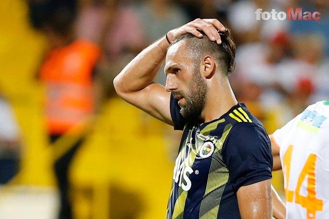 Alanyaspor-Fenerbahçe maçında geceye damga vuran hareket! Vedat Muriç...