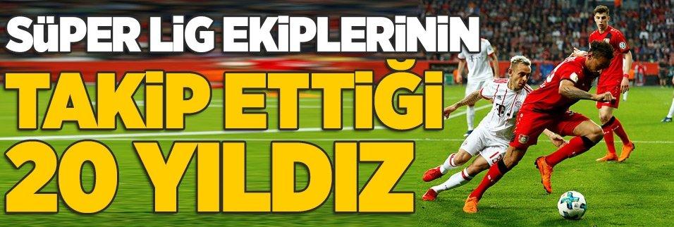 Türk takımlarının bonservissiz alabileceği en iyi 20 futbolcu