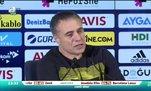 Ersun Yanal: Bu takımın performansının sorumlusu benim