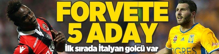 Fenerbahçe'nin 1 numaralı forvet adayı