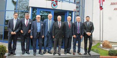 Trabzonspor'da Ahmet Ağaoğlu ve Yönetimi resmen göreve başladı