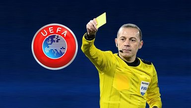 UEFA'dan dev anlaşma! Cüneyt Çakır...