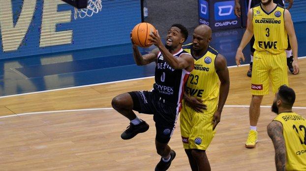 EWE Baskets Beşiktaş Icrypex 81-83 (MAÇ SONUCU - ÖZET)