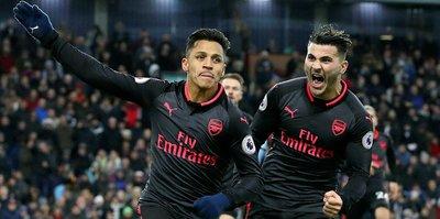 Arsenal, Burnley'i son dakikada devirdi