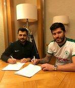 Giresunspor Cristian Tanase'yi renklerine bağladı