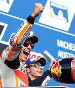 Marquez'den şampiyonluk için önemli adım