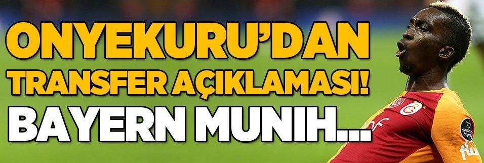 Onyekuru'dan transfer açıklaması! Bayern Münih...