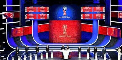 2018 Dünya Kupası gruplar belli oldu!