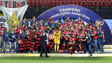 Son dakika spor haberleri: Brezilya'da şampiyon Flamengo oldu!