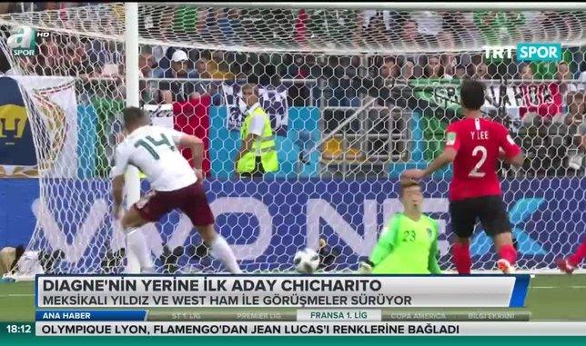Diagne'nin yerine ilk aday Chicharito   Video haber