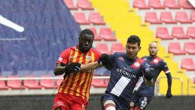 Son dakika spor haberi: Kayserispor 7.kez yenildi