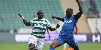 Bursaspor'da Moussa Sow krizi