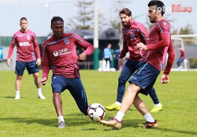 Trabzonspor Bursaspor maçı hazırlıklarını tamamladı