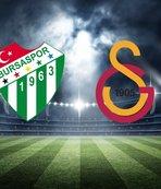 Bursaspor - Galatasaray maçı saat kaçta, hangi kanalda?