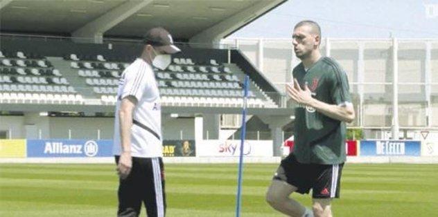 Rambo Merih antrenmanda - Futbol -