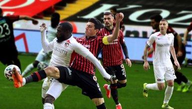 Gaziantep FK-Gençlerbirliği: 2-1 (MAÇ SONUCU-ÖZET)