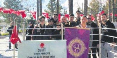 Osmanlıspor'dan anlamlı ziyaret