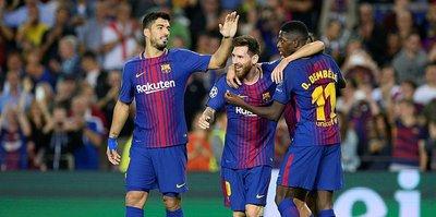 Barcelona'ya sakatlık şoku