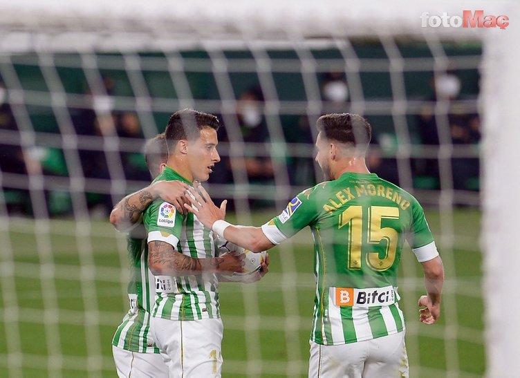 Son dakika transfer haberi: Real Betis'ın kanat oyuncusu Tello Trabzonspor'a haber yolladı: Beni alın