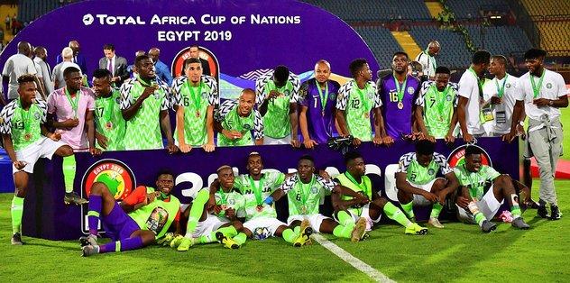 Nijerya Afrika Kupası'nı 3 tamamladı