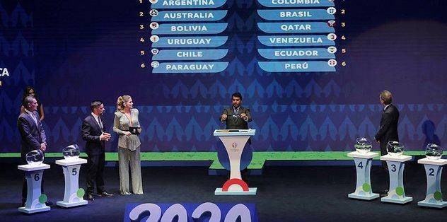 Copa America 2020'de gruplar belli oldu