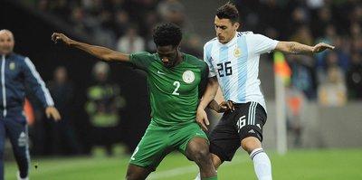 Nijerya, Messi'siz Arjantin'i dağıttı