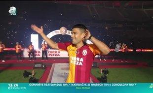 Falcao: Türkiye'de çok mutluyum