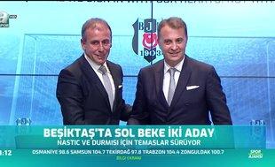 Beşiktaş'tan sol beke iki aday