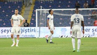 Fenerbahçe'de kaybedilmiş 45 dakıka!