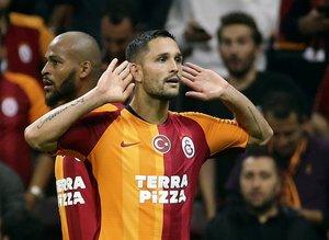 Galatasaray'ın yıldızı Andone İspanya'yı salladı