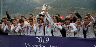 Ege Kupası Genç Milli Takım'ın!