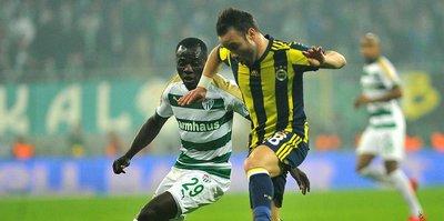 Bursaspor, evinde F.Bahçe'yi yenemiyor!