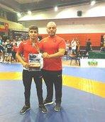 Kayseri Şekersporlu Milli Güreşçi Balkan Şampiyonu Oldu
