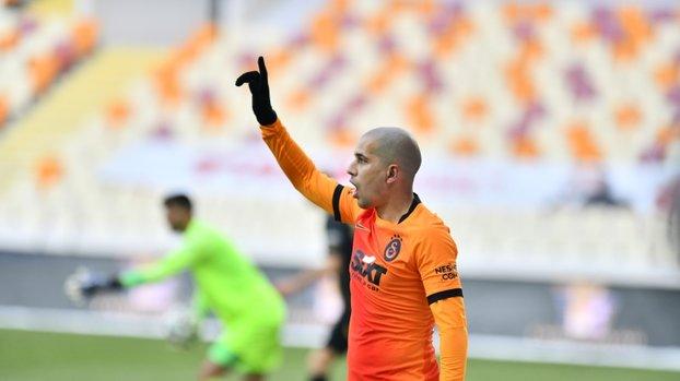 Galatasaray'da sakatlığı bulunan Feghouli Fenerbahçe derbisinde oynayacak mı? İşte yanıtı #