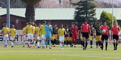 U21'ler evinde 4-2 mağlup