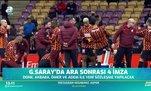 Galatasaray'da ara sonrası 4 imza