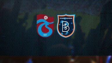 Trabzonspor Başakşehir maçı CANLI İZLE