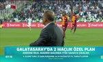 Galatasaray'da 2 maçlık özel plan