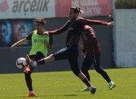 Trabzonspor Bursaspor maçı hazırlıklarını sürdürdü